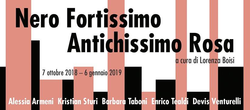 Nero Fortissimo - Rosa Antichissimo