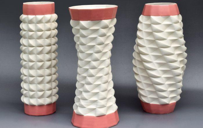 Guglielmo Marthyn, Tre Diamanti, 3D Clay